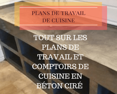 tout sur les plans de travail et comptoirs de cuisine en b ton cir paviart le sp cialiste. Black Bedroom Furniture Sets. Home Design Ideas
